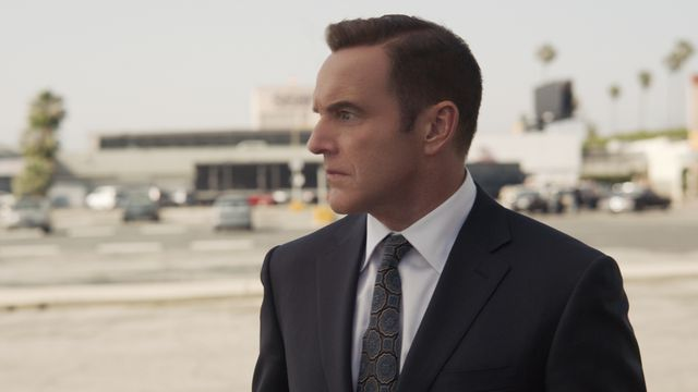 Clark Gregg as young Agent Coulson in Captain Marvel (2019)