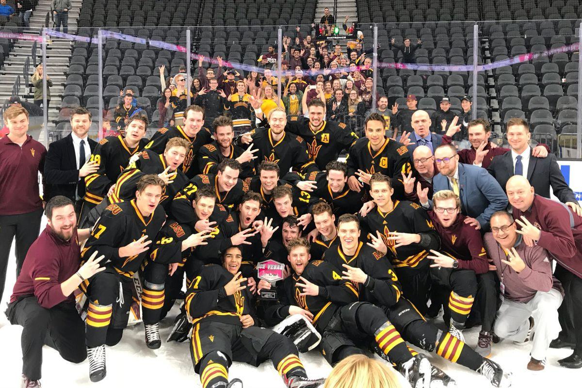 Two For Forking Sun Devils Win Big At Ice Vegas Invitational Five