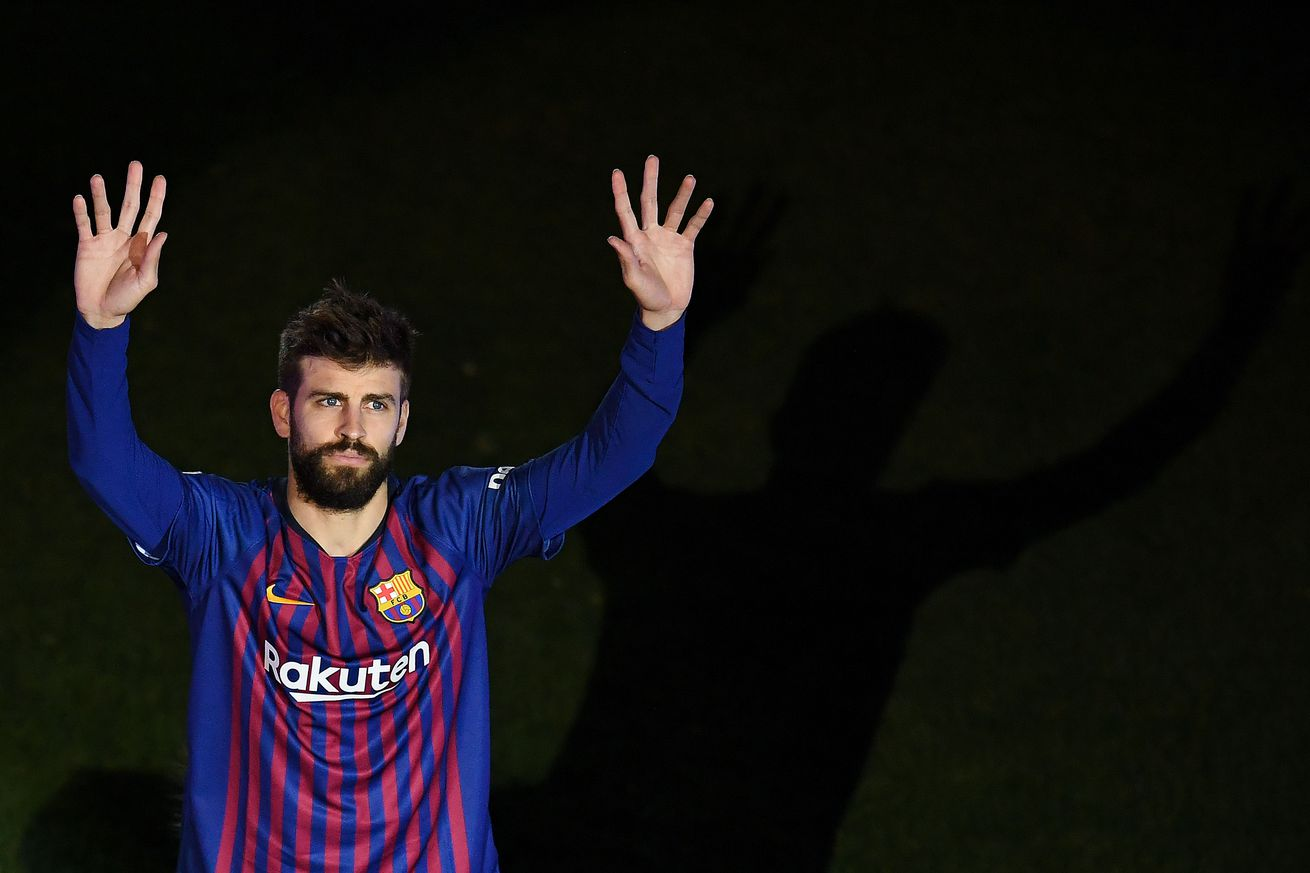 Gerard Pique reveals his favourite moment in a Barcelona shirt