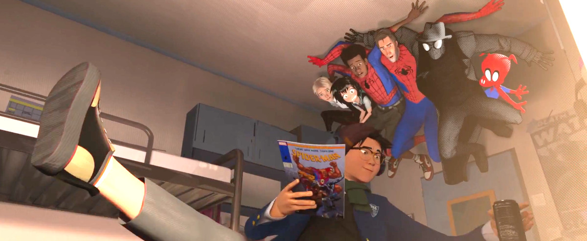 Spider Man Into The Spider Verse Trailer Easter Eggs You