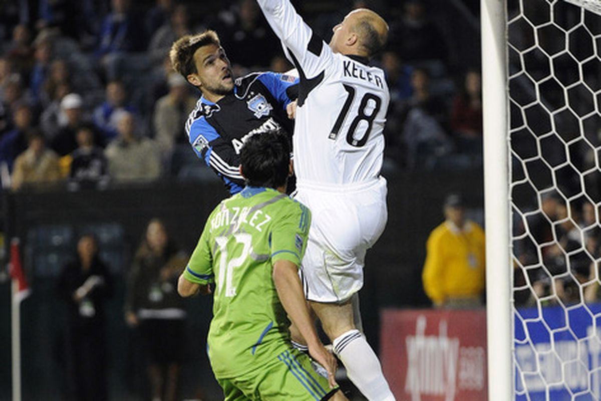 The San Jose Earthquakes will look to give Kasey Keller all he can handle tonight in Seattle.