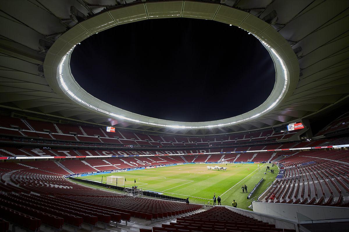 ESP: Atletico de Madrid and Valencia CF. La Liga Santander.