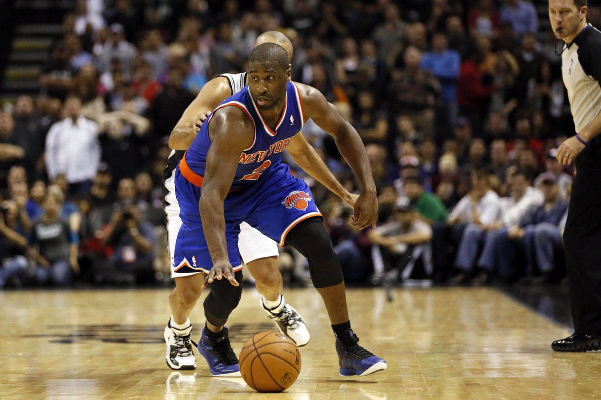 Raymond Felton played an outstanding game despite playing with a forty-pound basketball.