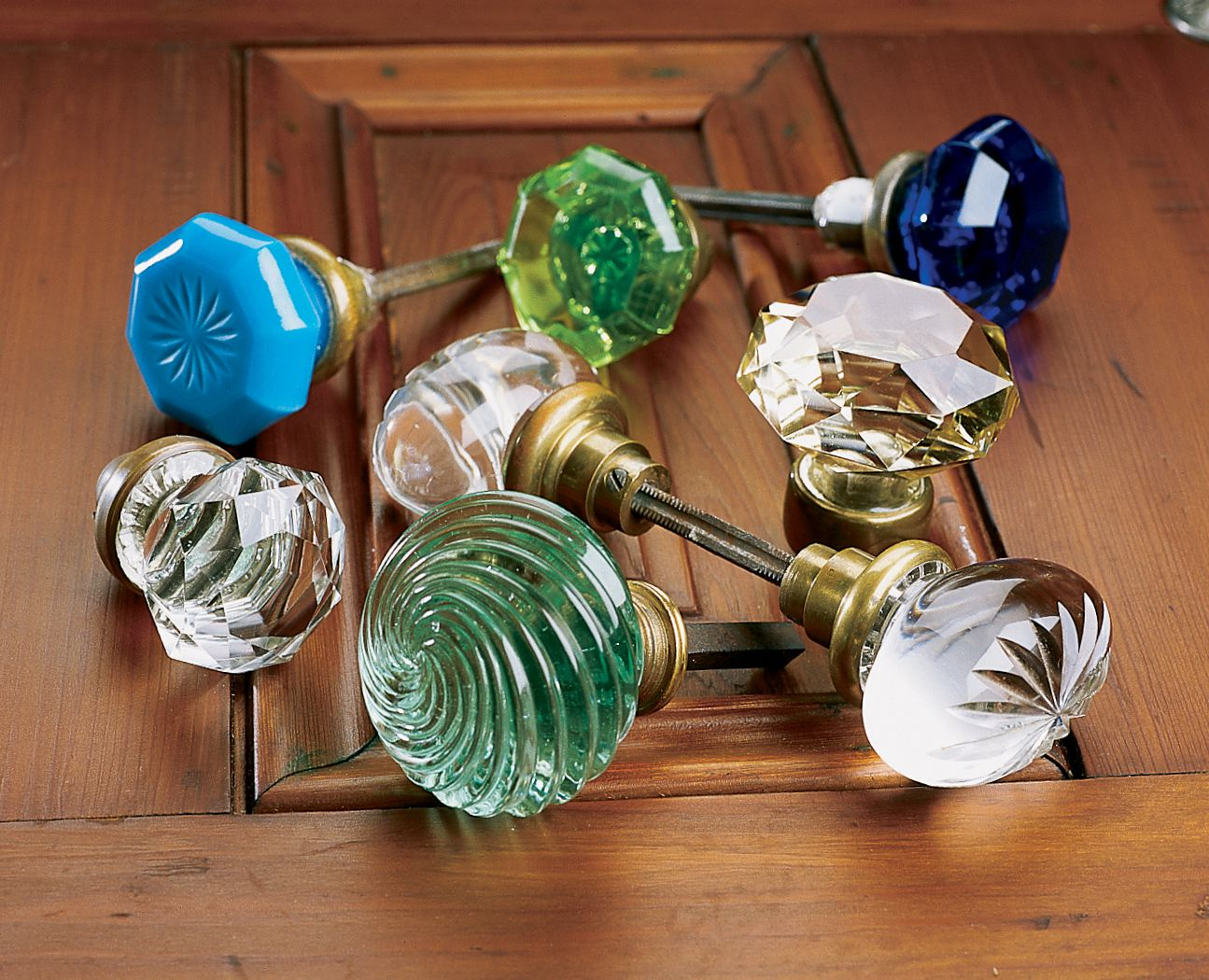 With Fitting Hardware Doors Clear Bubble Bubbled Round Glass Knob Furniture Drawers Handle Pull Kitchens for Cupboards Cabinets