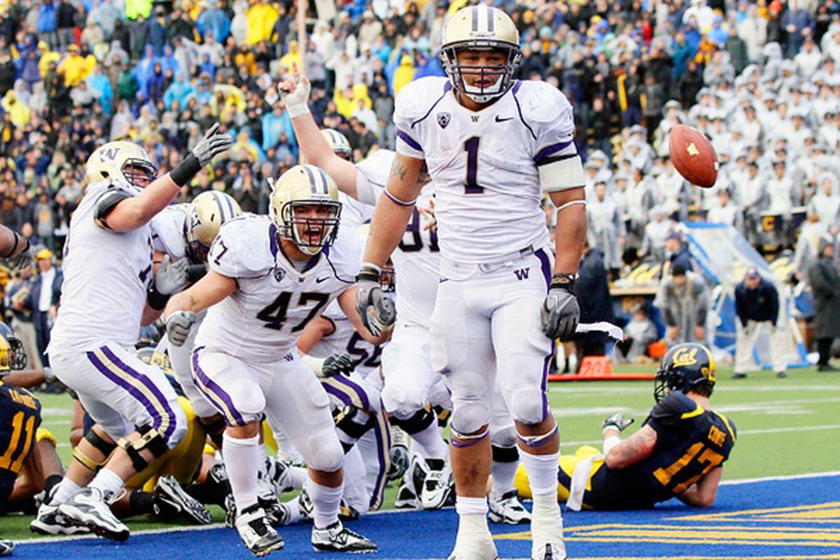 Remind me again - what happened the last time the Huskies played in Memorial Stadium?
