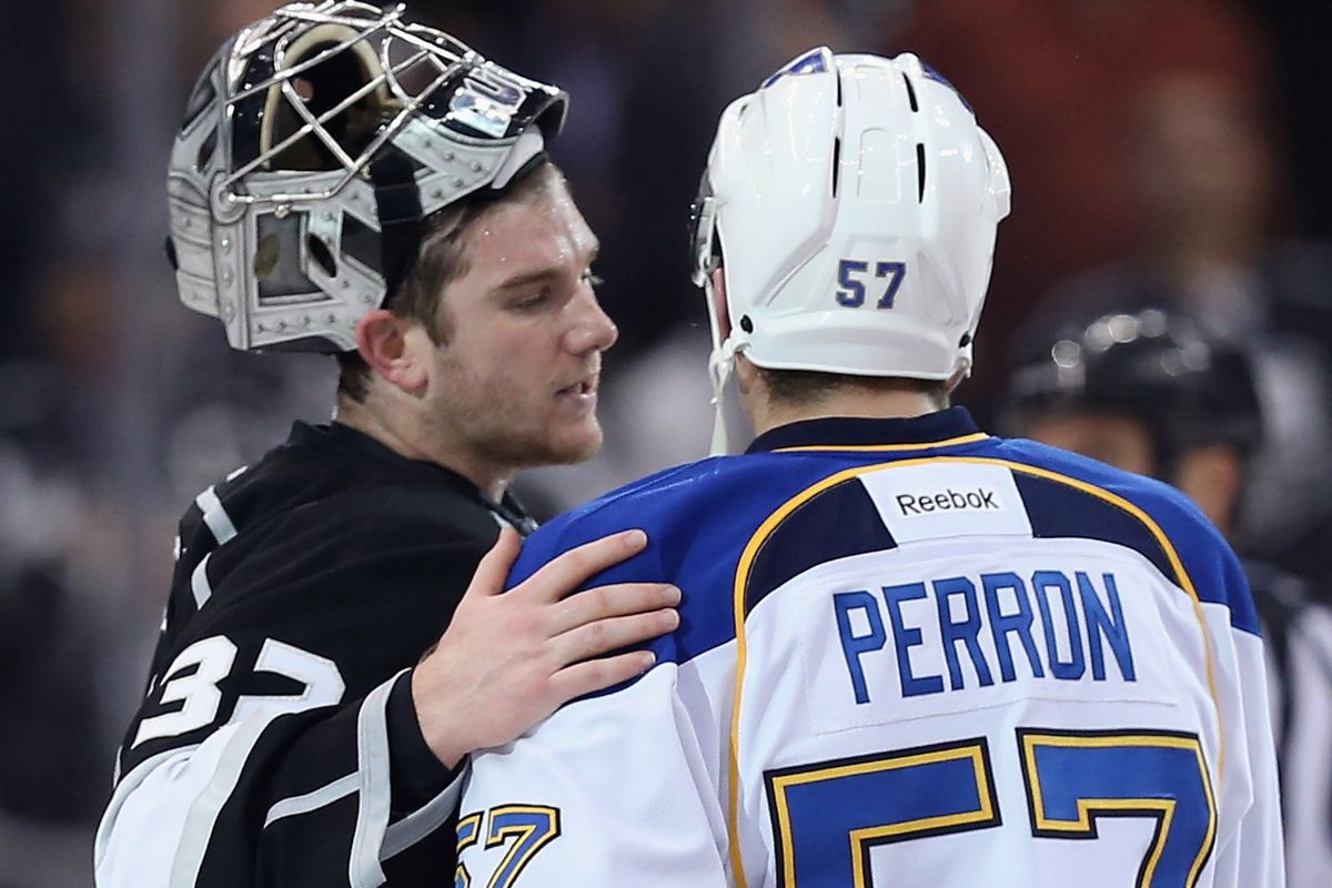 After this final handshake between recurring adversaries, the Kings can prepare for Round 2.