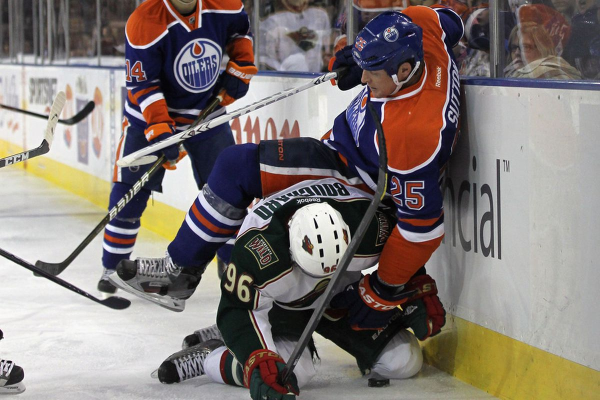 Sutton leapfrogs PMB...just like the Wild leapfrogged the Pens in the standings. (Photo by Bruce Bennett/Getty Images)