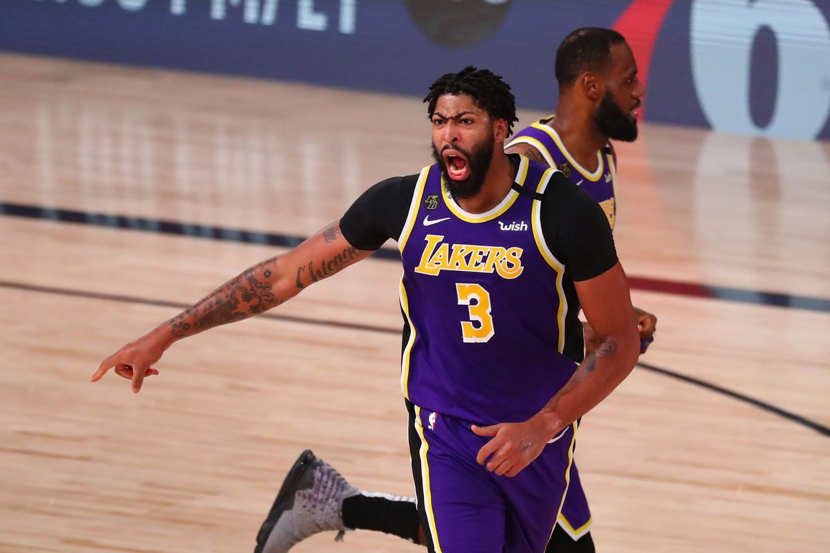 Anthony Davis Injury Update Lakers Pf Probable For Game 5 Vs Trail Blazers Draftkings Nation
