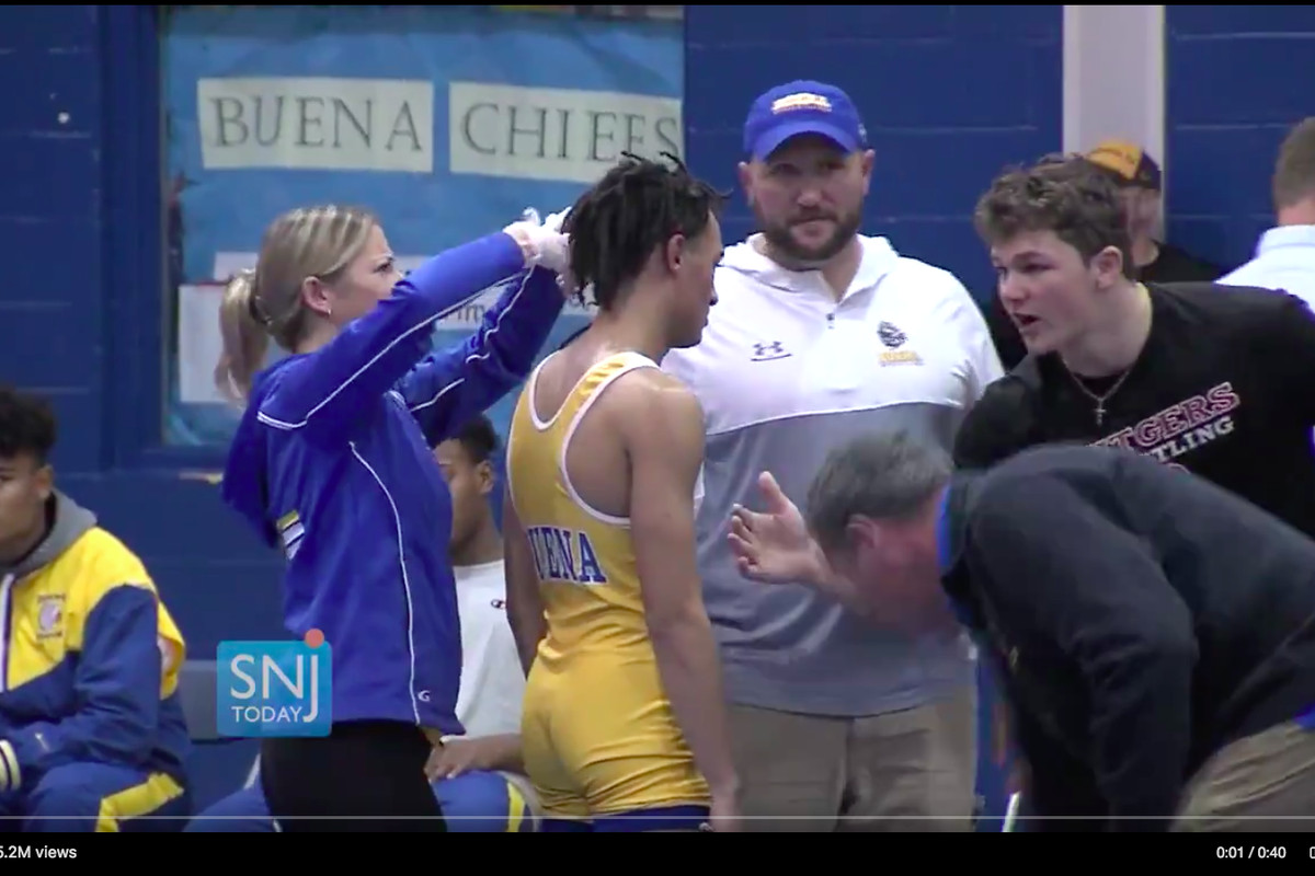 A video of a black high school wrestler being forced to cut his hair to continue competing went viral.