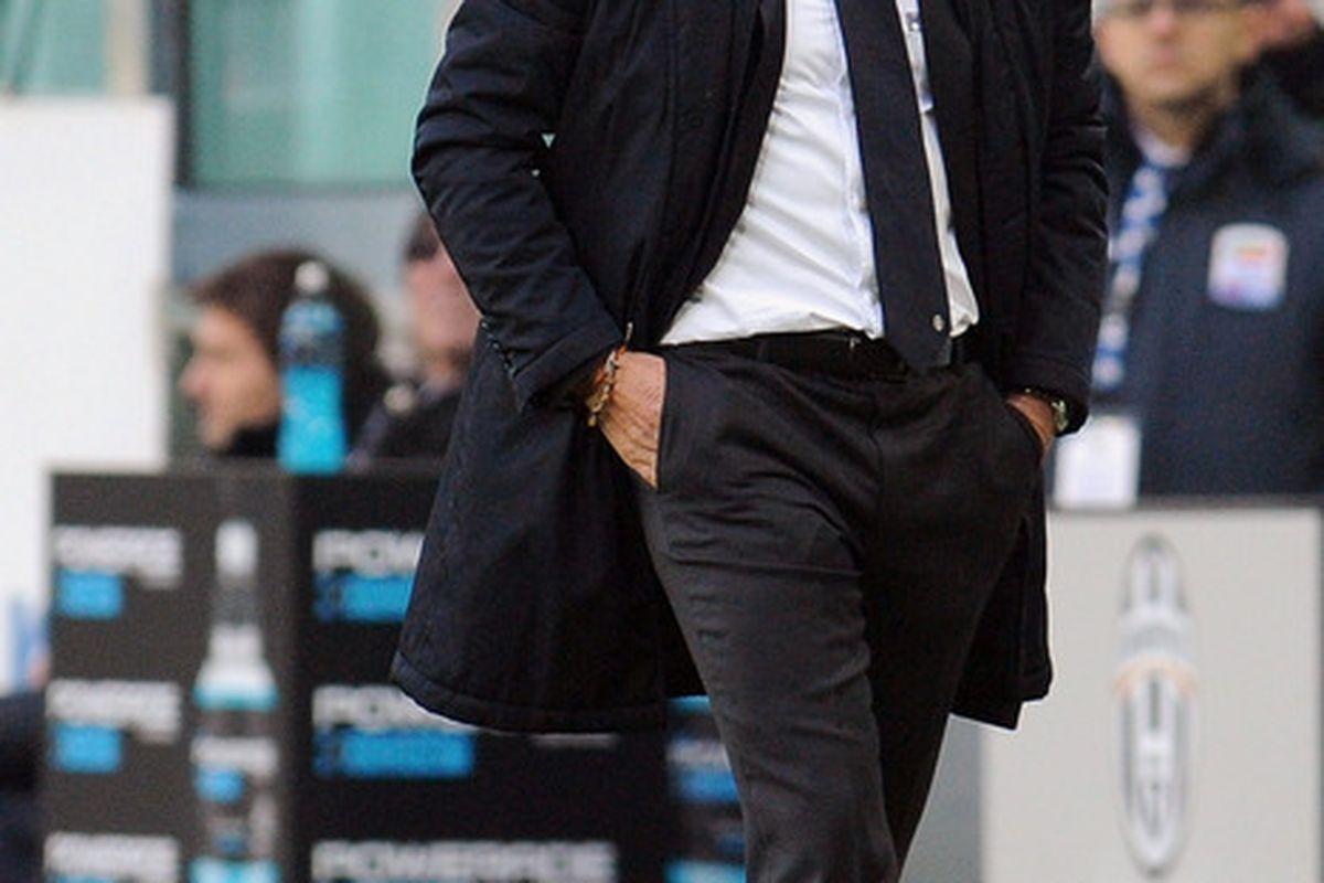 Antonio Conte looking over his empire, obviously.