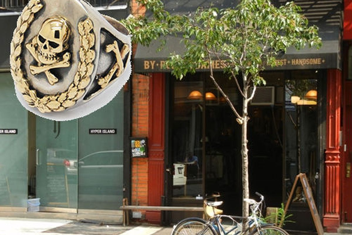 """Image of 72 and 74 Orchard Street via <a href=""""http://www.thelodownny.com/leslog/2011/10/the-great-frog-maker-of-rocker-jewelry-coming-to-orchard.html"""">The Lo-Down</a>"""