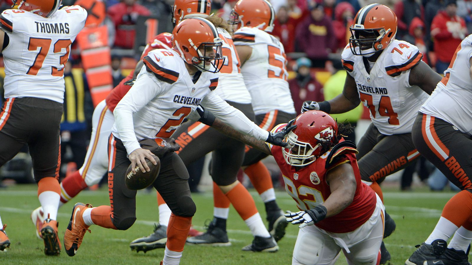 cleveland browns vs kansas city chiefs 4th quarter game