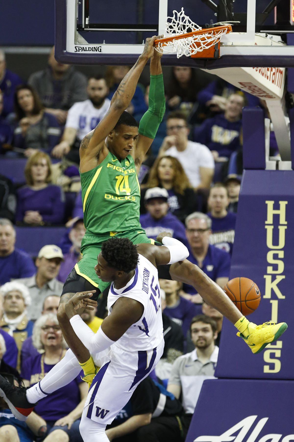 NCAA Basketball: Oregon at Washington