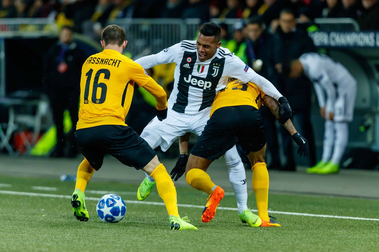Juventus 1 - Young Boys 2: Initial reaction and random observations