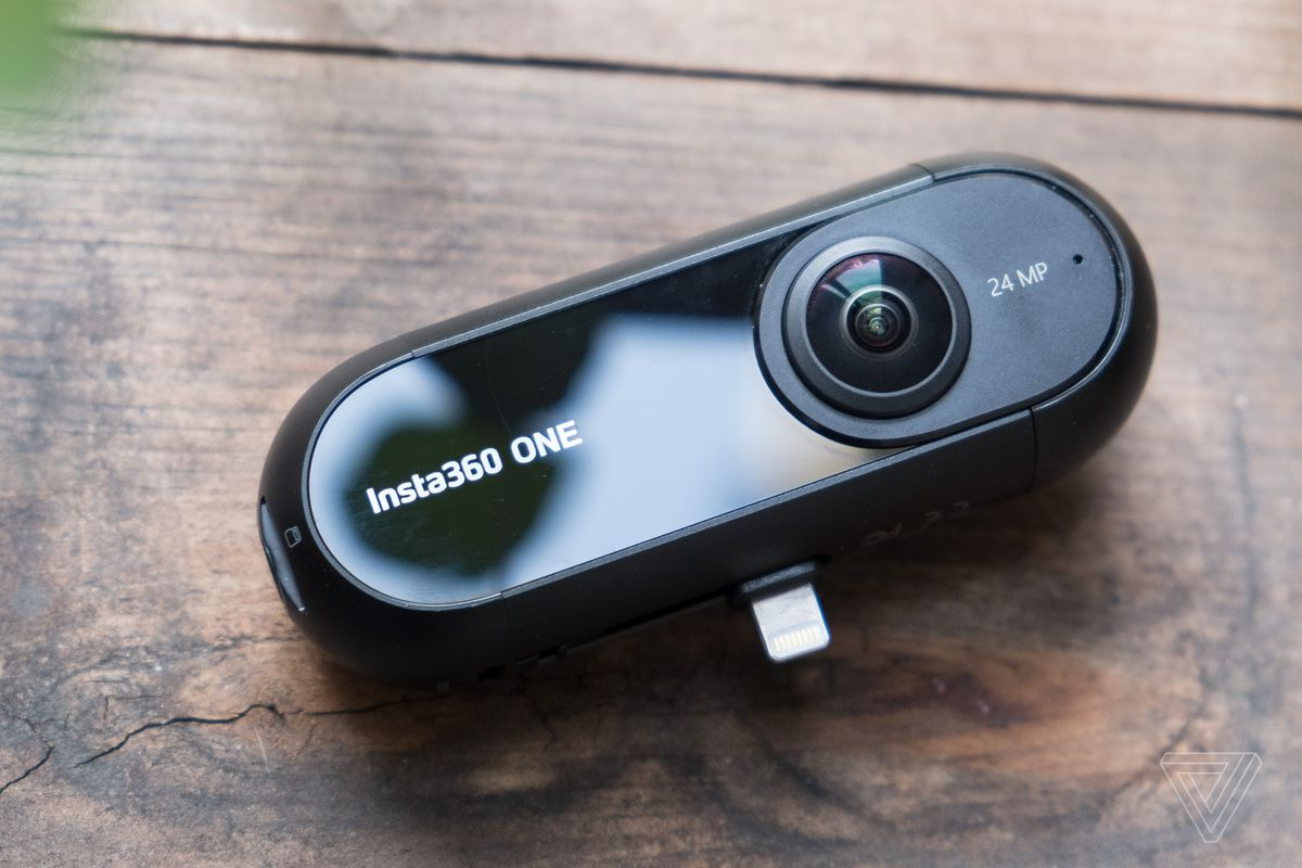fb9a3ee075bea4 Insta360 One is a 360-degree camera with a really clever trick up its sleeve