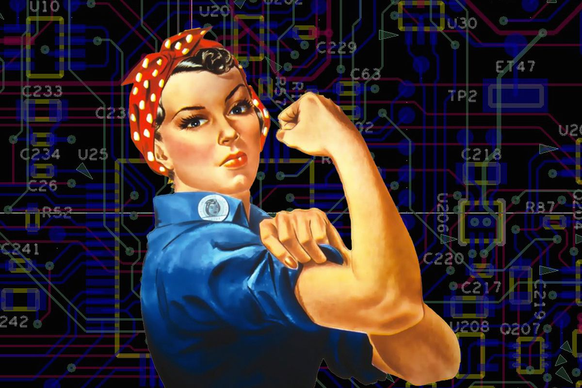 Code Documentary Maker: 'This Is a Rosie the Riveter Moment'
