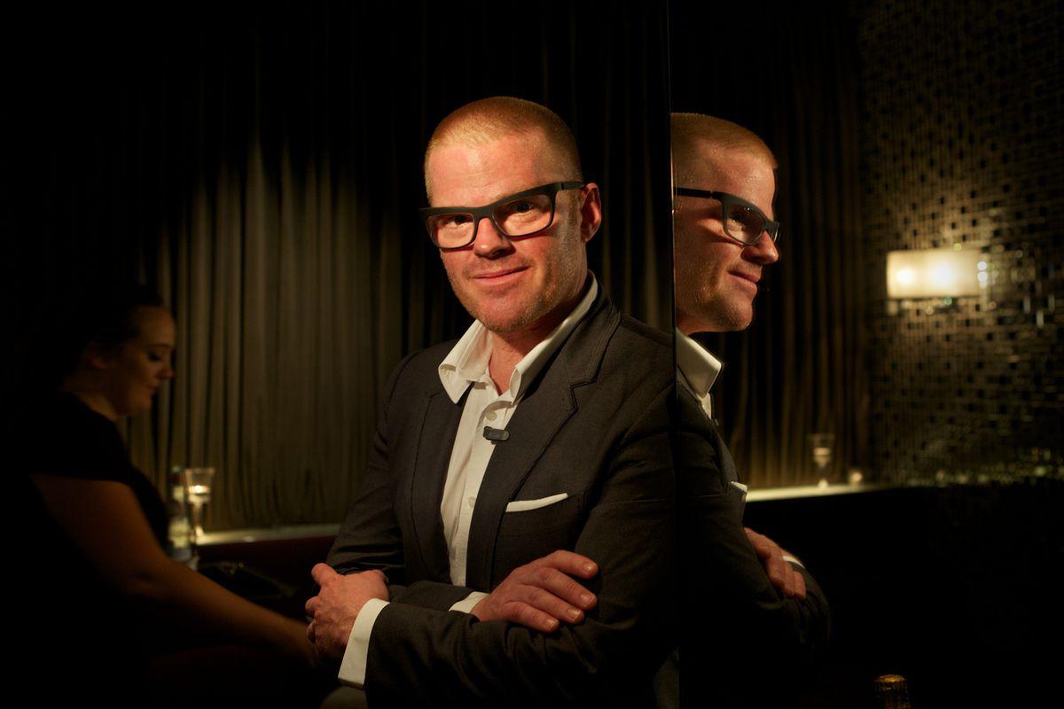 Heston Blumenthal, chef behind Dinner by Heston Melbourne
