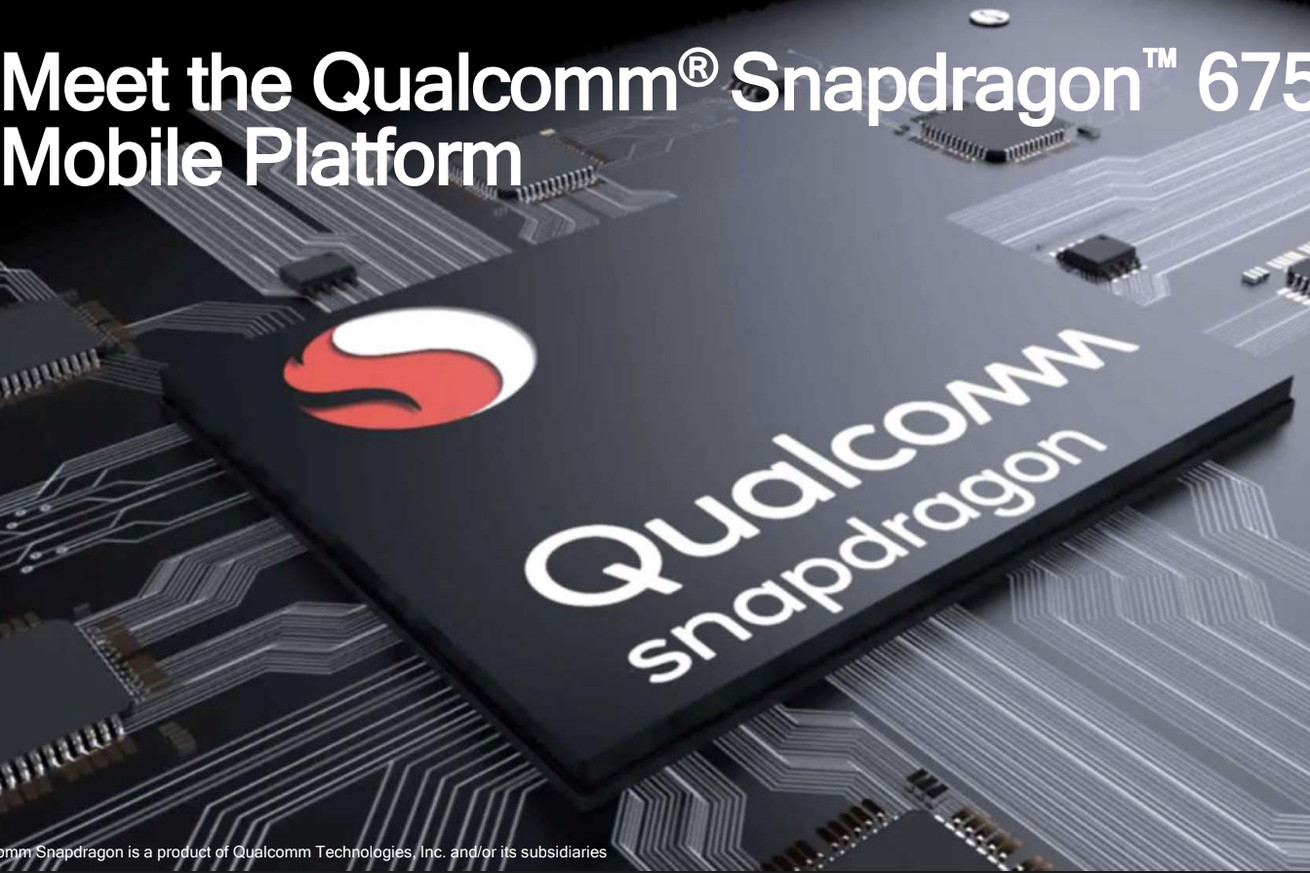 qualcomm announces snapdragon 675 with faster cores and triple camera support