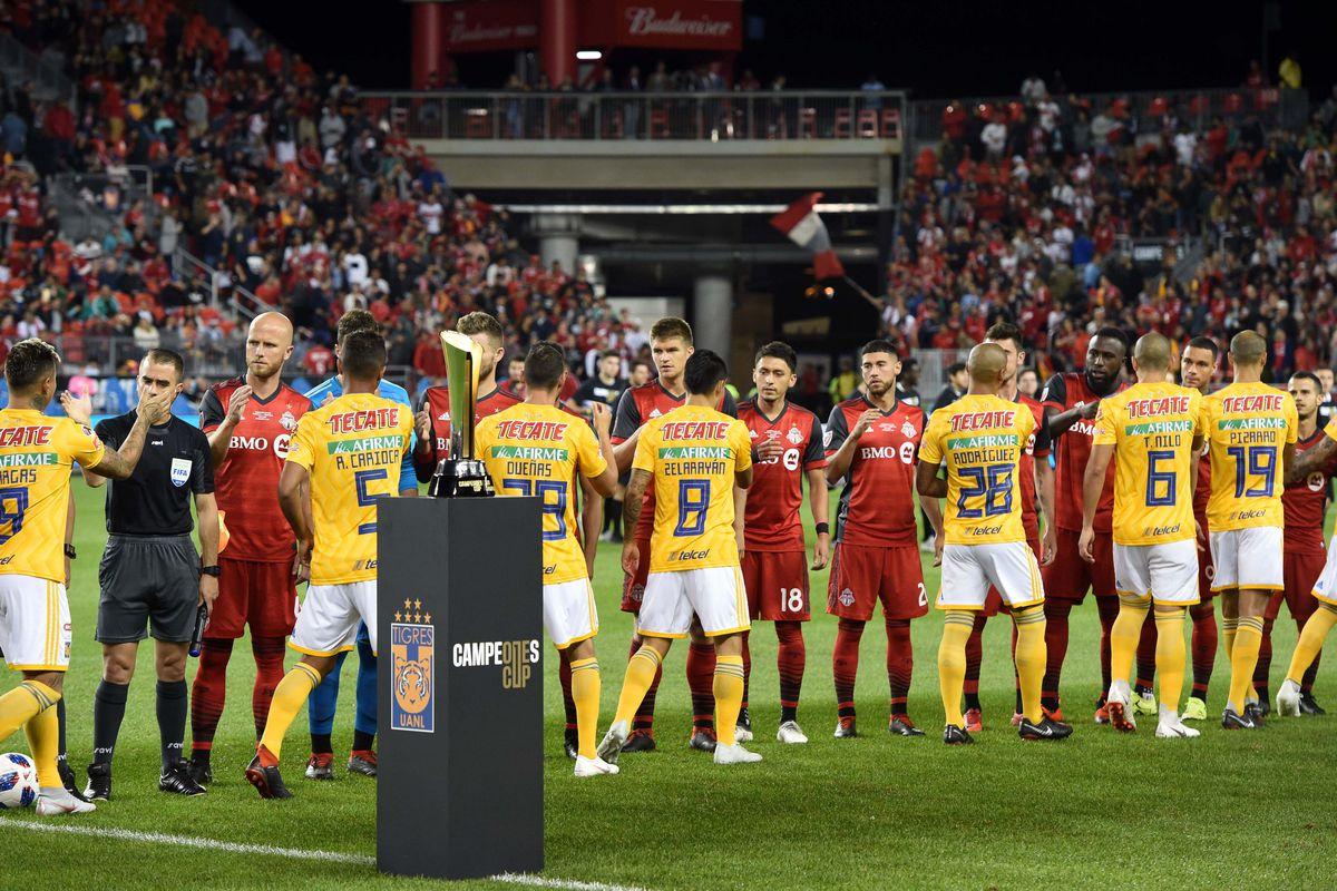 MLS: Campeones Cup-Tigres UANL at Toronto FC