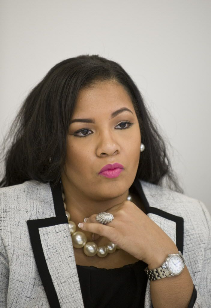 <small><strong>Stephanie D. Coleman is an aldermanic candidate for the 16th Ward in the City of Chicago. | Richard A. Chapman/Sun-Times</strong></small>
