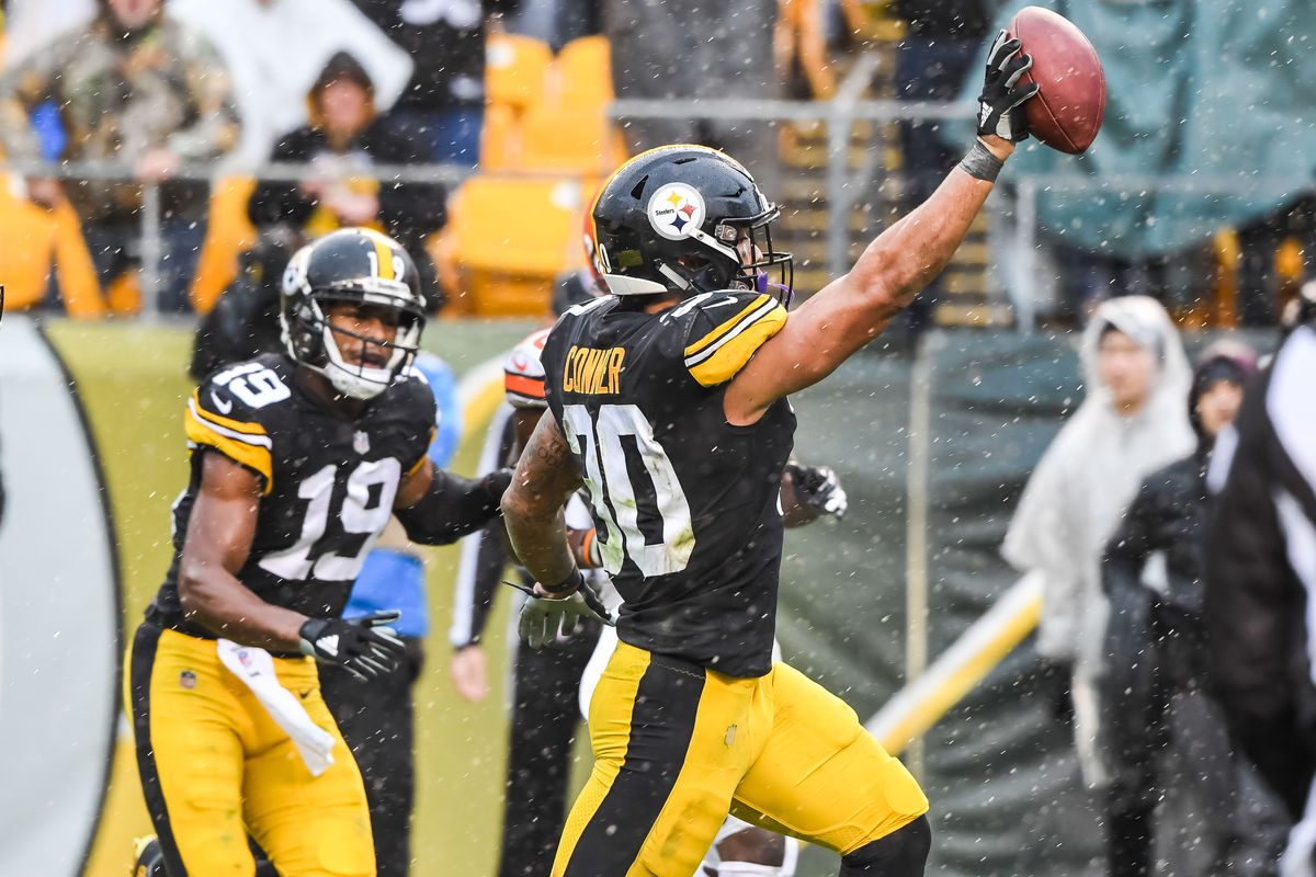 43e2597e417 Rookie contract hero  James Conner gives Steelers what Le Veon Bell ...