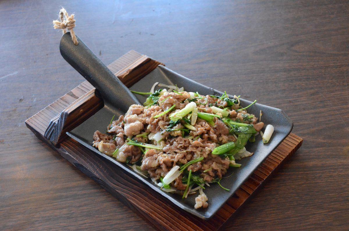 Beijing-style roast lamb at Beijing Restaurant