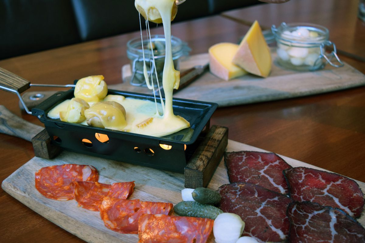Raclette at Blue Duck Tavern