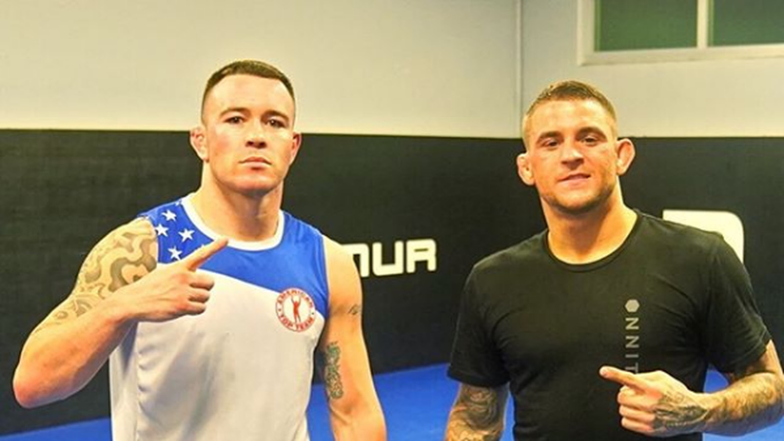 Colby Covington squashes beef with Dustin Poirier