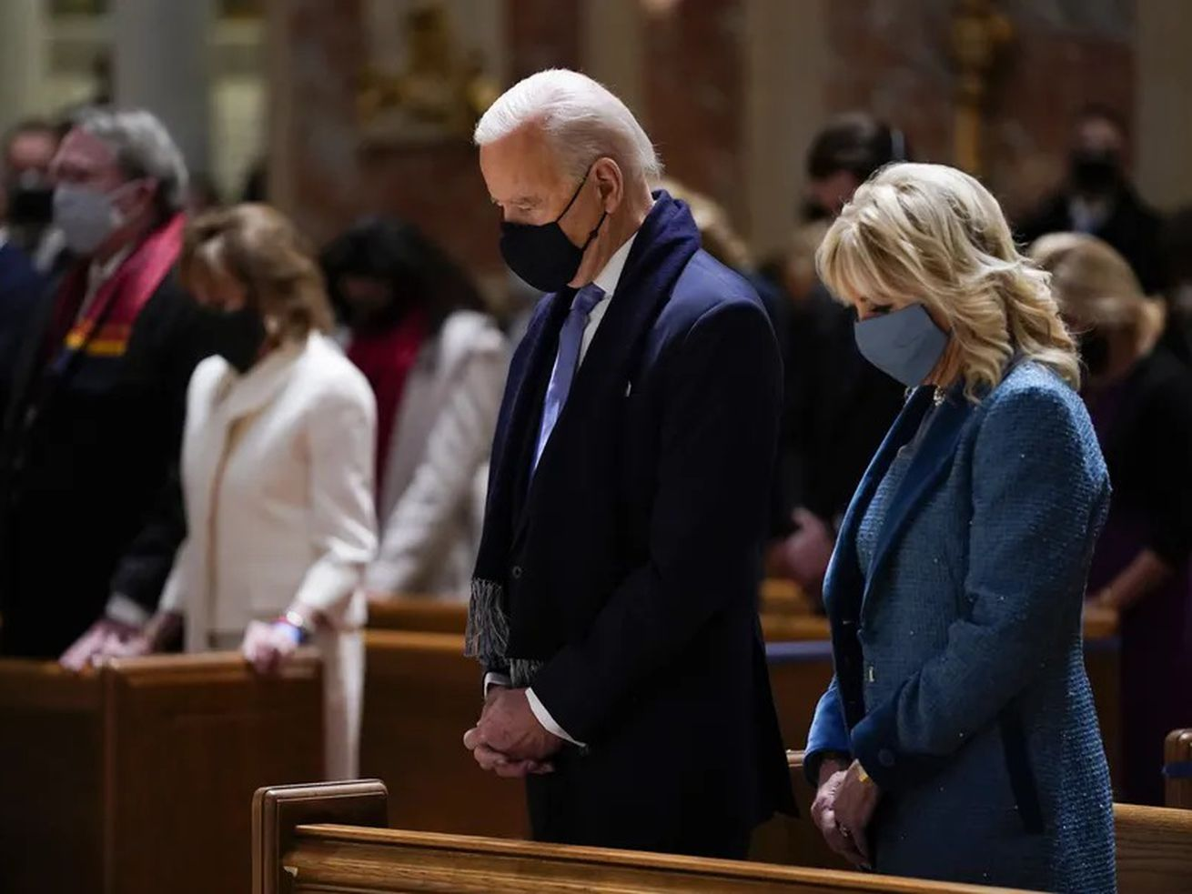 Amid the Catholic power struggle over abortion, Biden is upholding personal rights