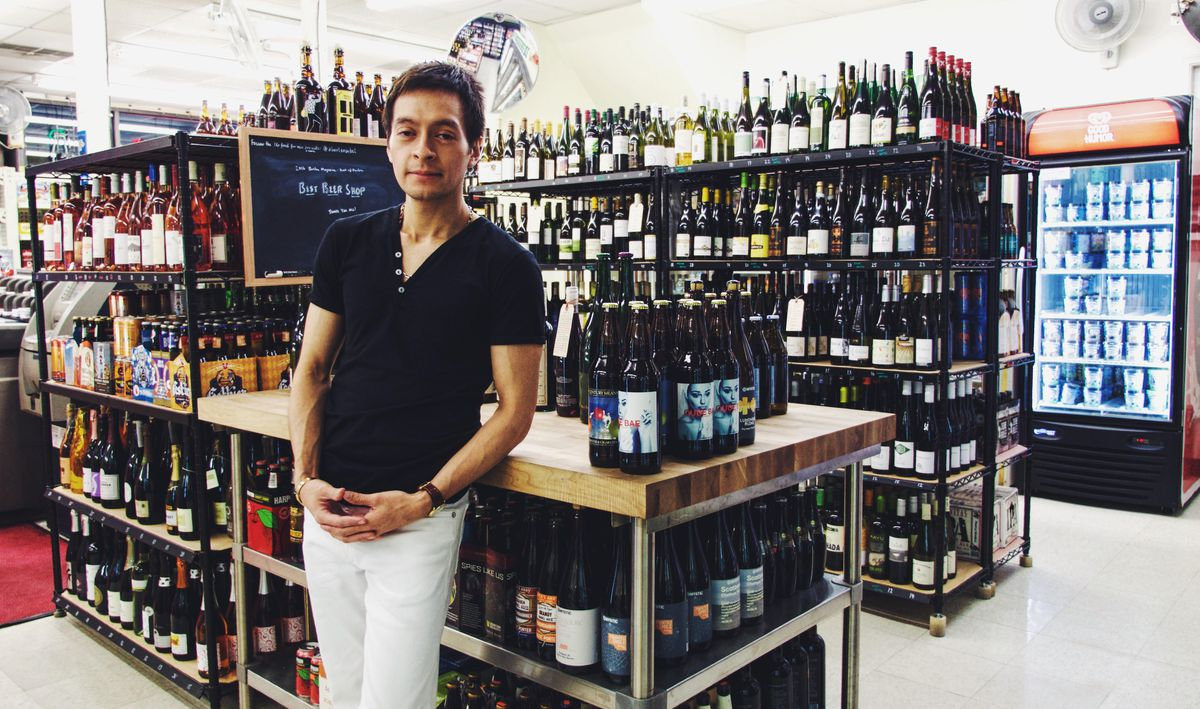Fabian Vasquez at Albert's Market