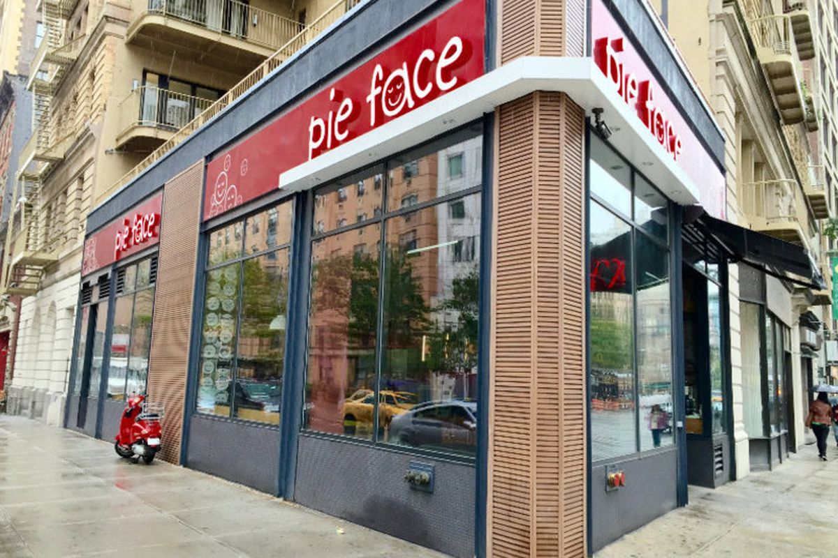 Pie Face's Union Square location shuttered this weekend.