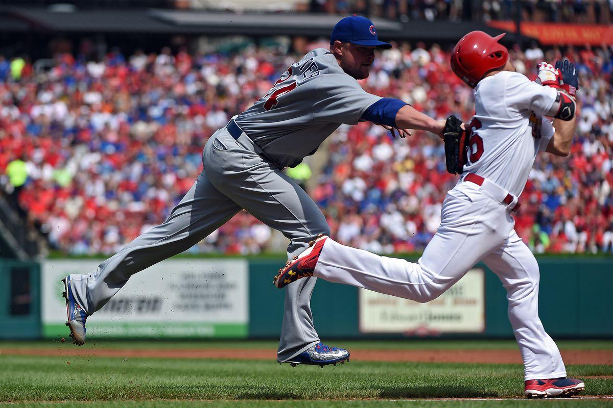 He pitches! He hits! He fields! He's a bona-fide triple threat!