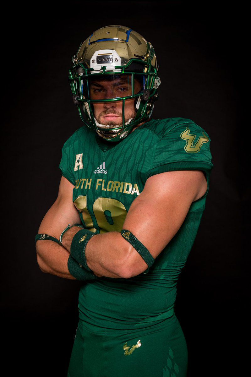 new styles f9f20 52620 A Closer Look at the Unveiling of USF Football's Home Adidas ...