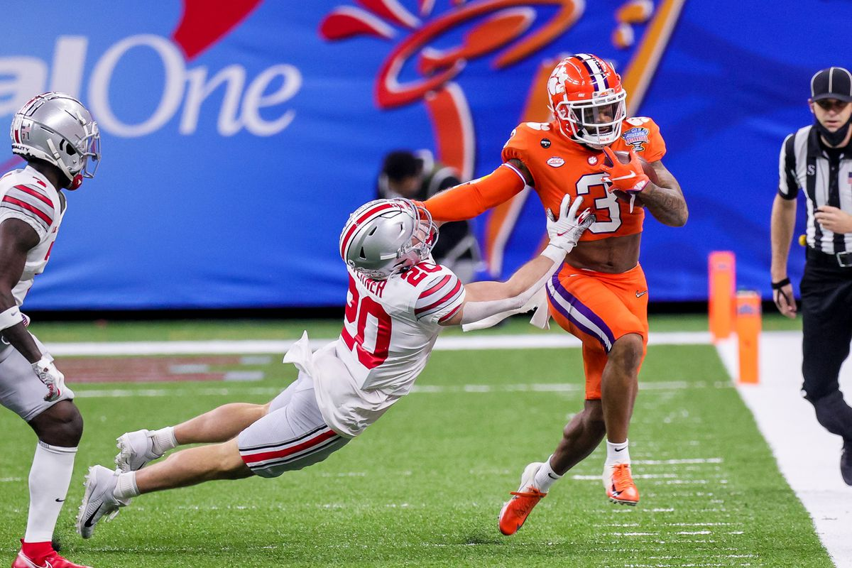 COLLEGE FOOTBALL: JAN 01 Allstate Sugar Bowl Semifinal Game - Ohio State v Clemson