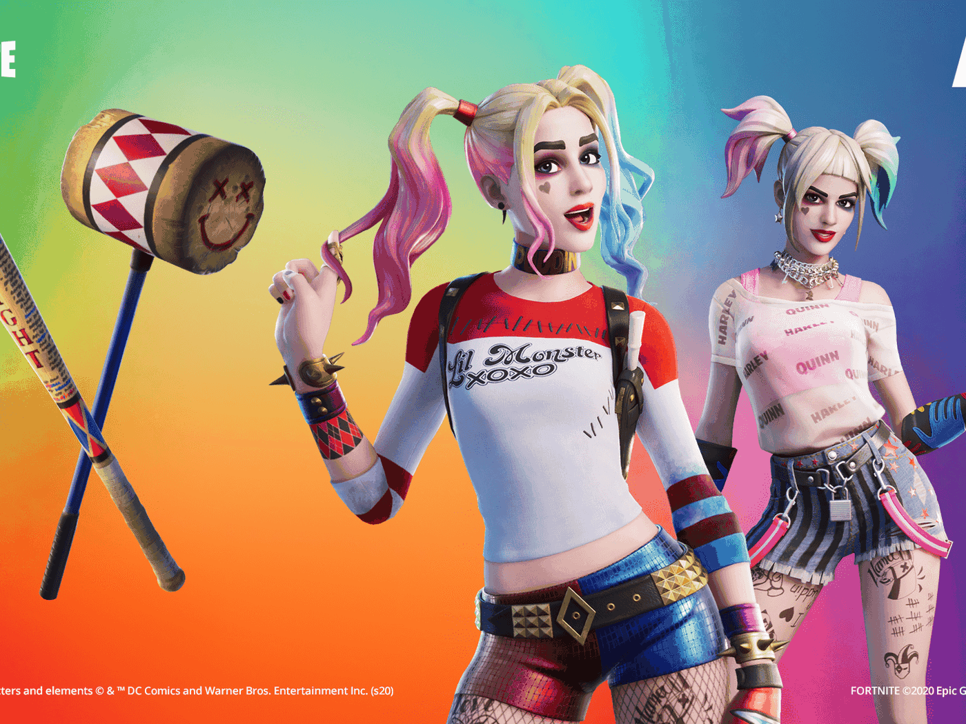 Fortnite Adds A Harley Quinn Skin To Celebrate The Release Of Birds Of Prey The Verge