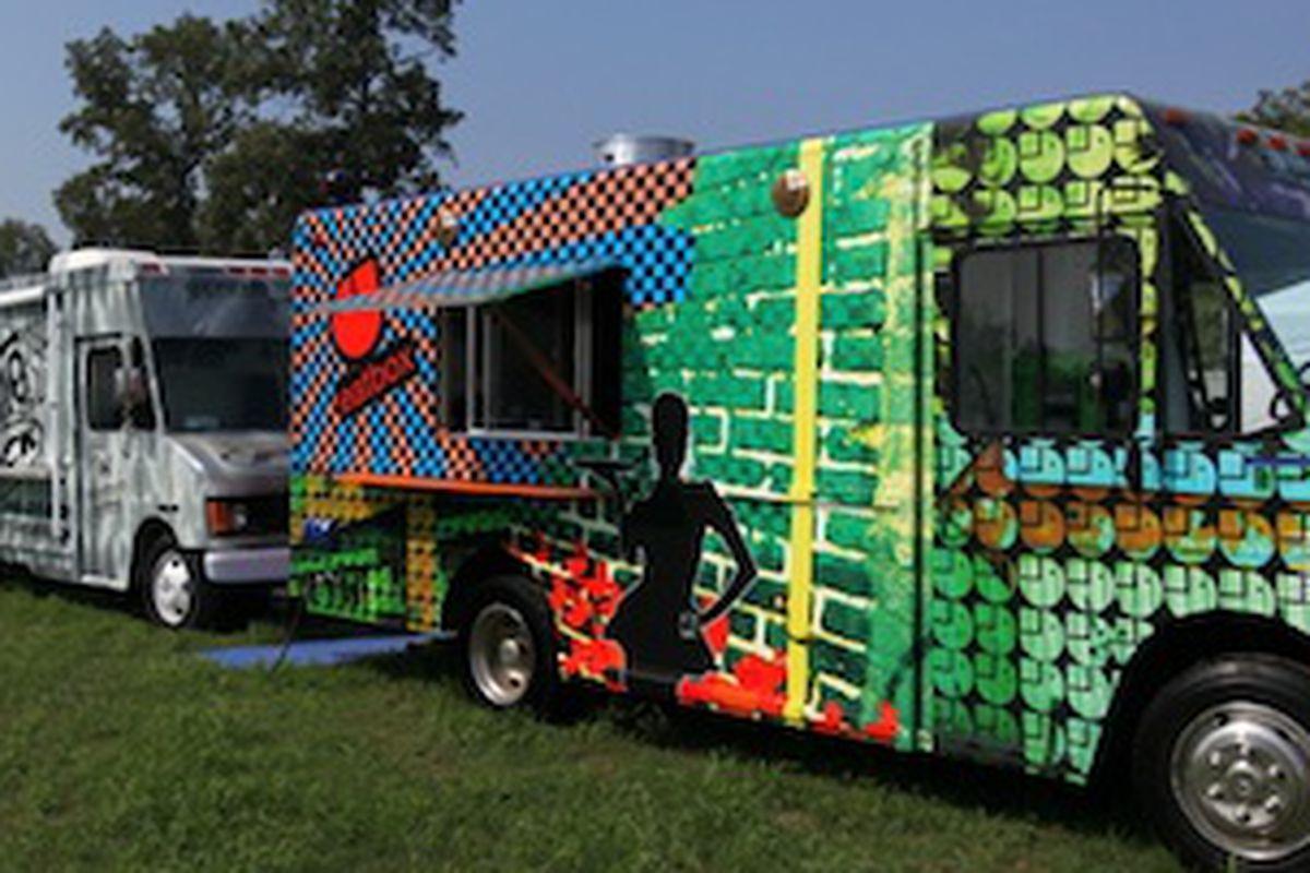 Bonnaroo's 2011 Food Truck Oasis.