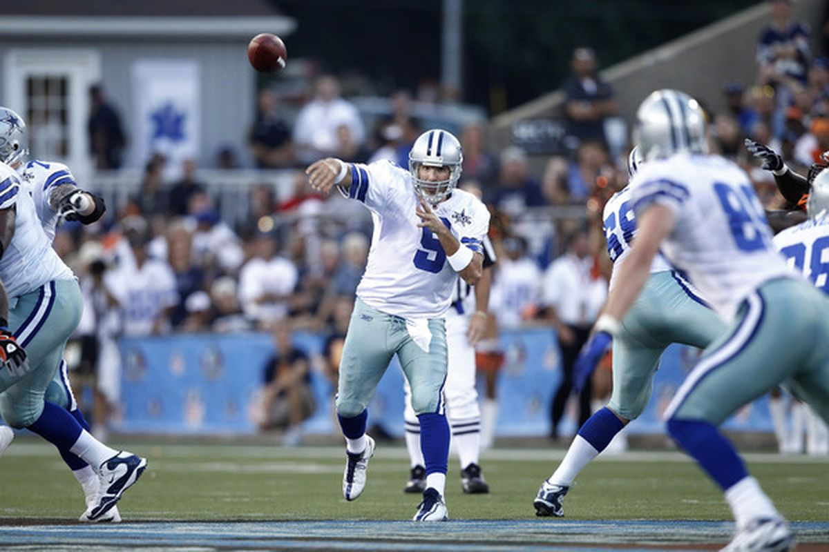 I'm hoping to see better overall execution from the Dallas Cowboys offense tonight against the Oakland Raiders.