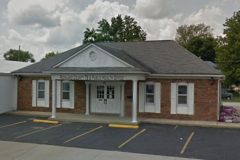 Richland County Public Health offices in Olney, Ill.