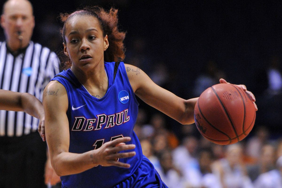 Brittany Hrynko and the Blue Demons are the host for this year's Big East tournament.