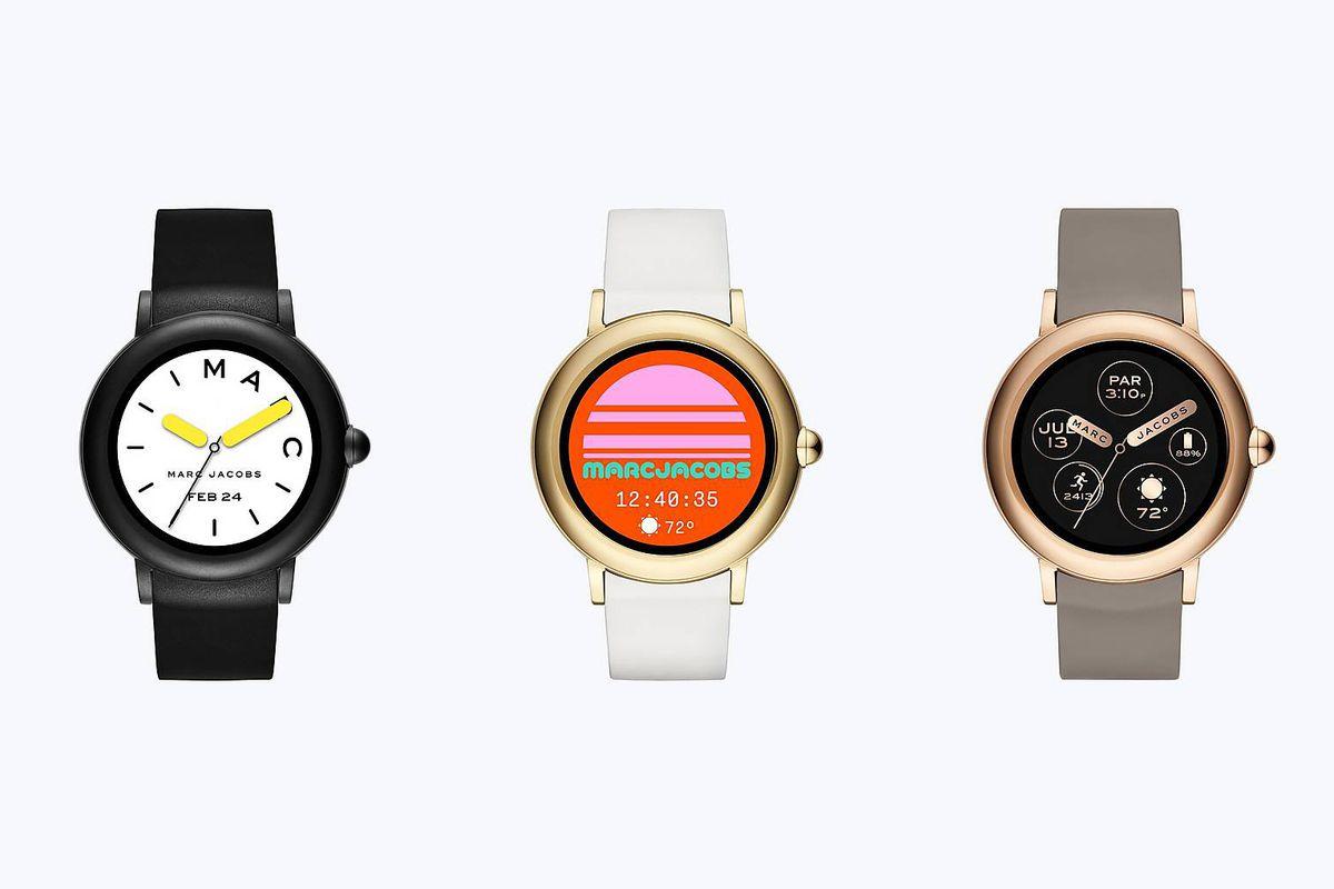 Risultati immagini per Marc Jacobs debuts a stylish line of smartwatches FOTO