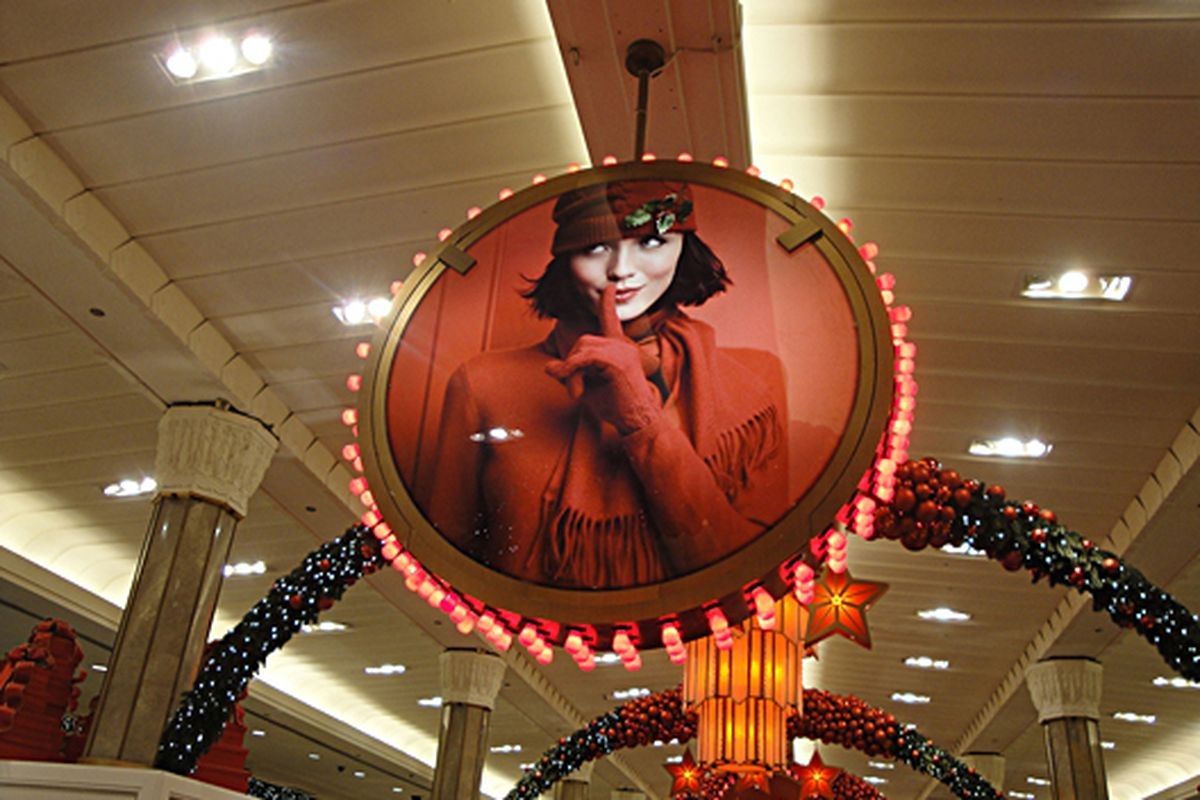 """Macy's decorations via <a href=""""http://www.flickr.com/photos/joearchitect/5243922817/in/pool-312691@N20/"""">Joe Architect</a>/Racked Flickr Pool"""