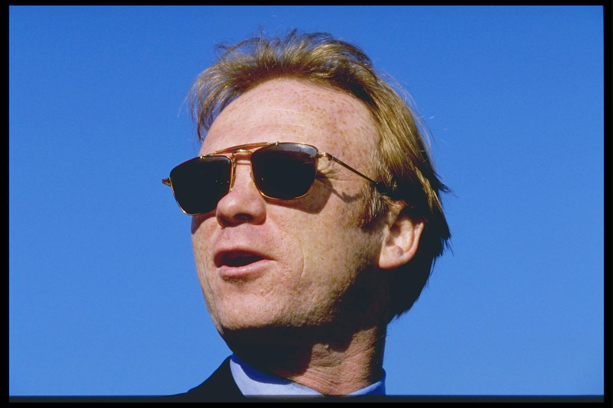 A portrait of Motherwell manager Alex McLeish