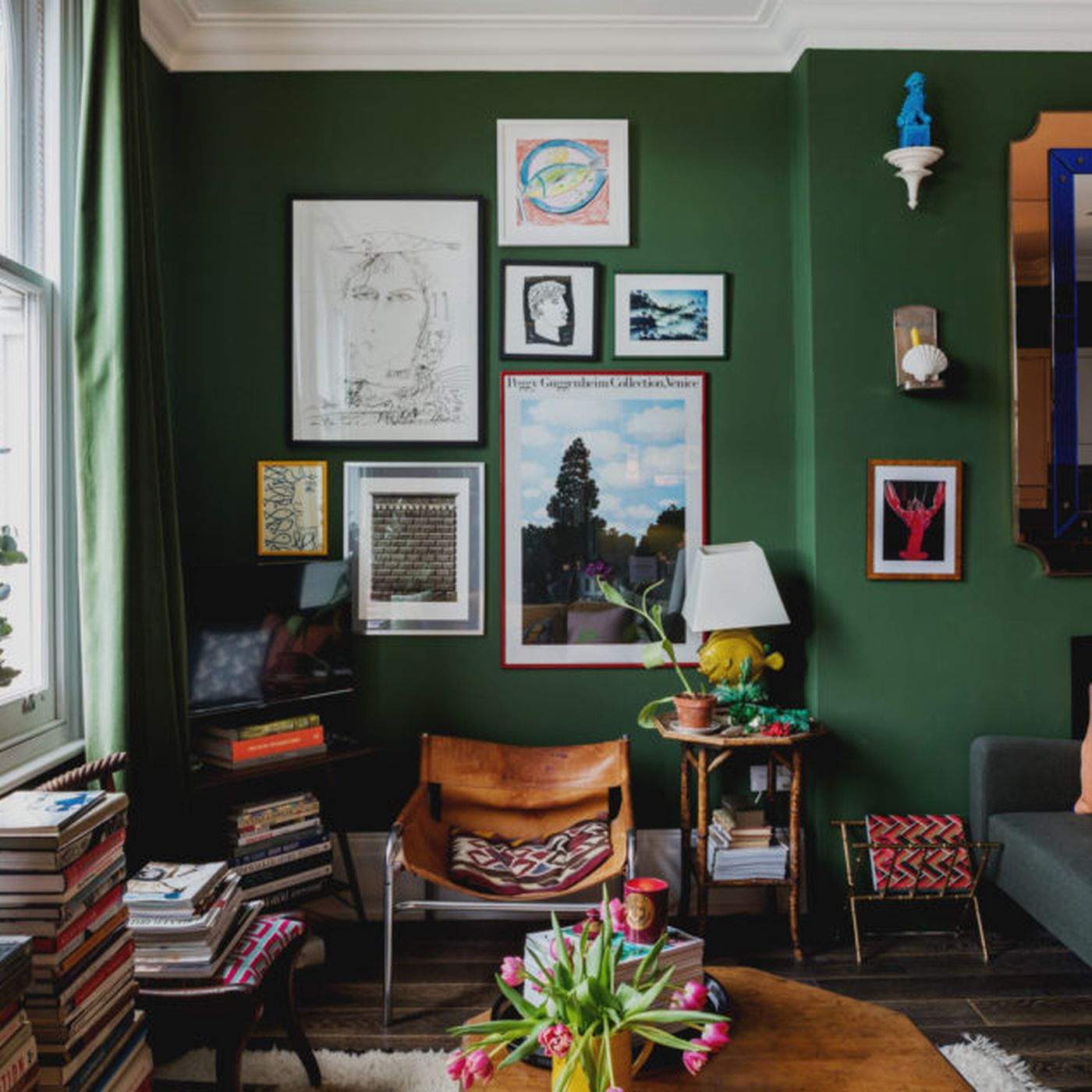 . London flat goes all in on color and whimsical decor   Curbed