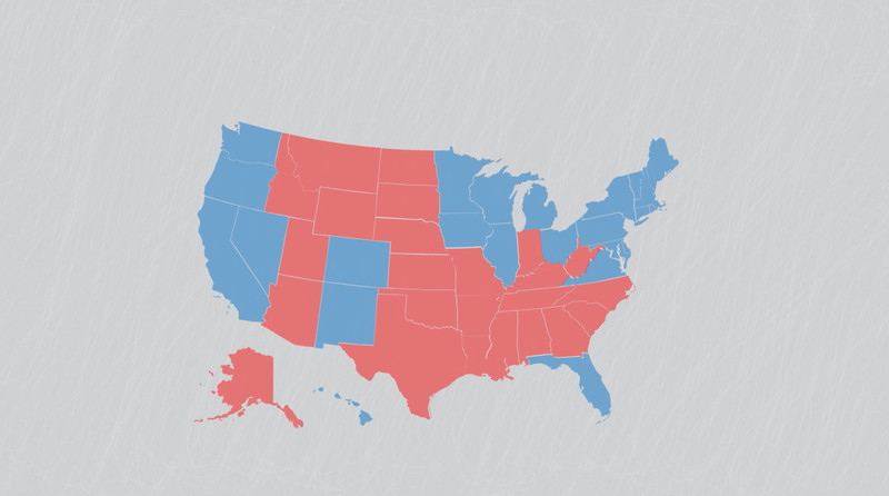 The Bad Map We See Every Presidential Election Vox - 2012 us presidential election map