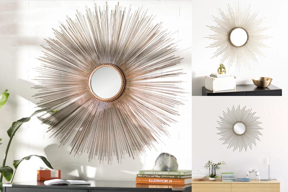 Sunburst Mirrors Are The Omnipresent Home Decor I Can T Stop Noticing Vox