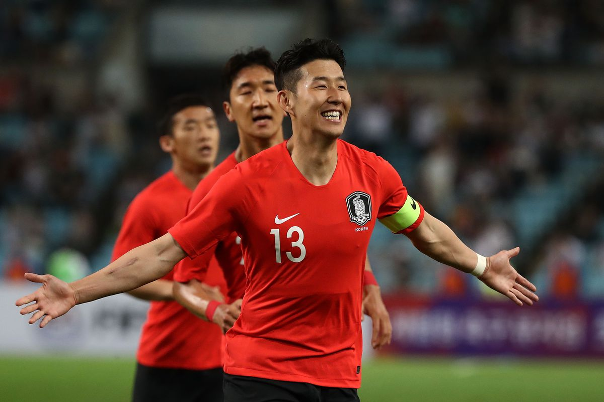 Image result for Korea son heung min