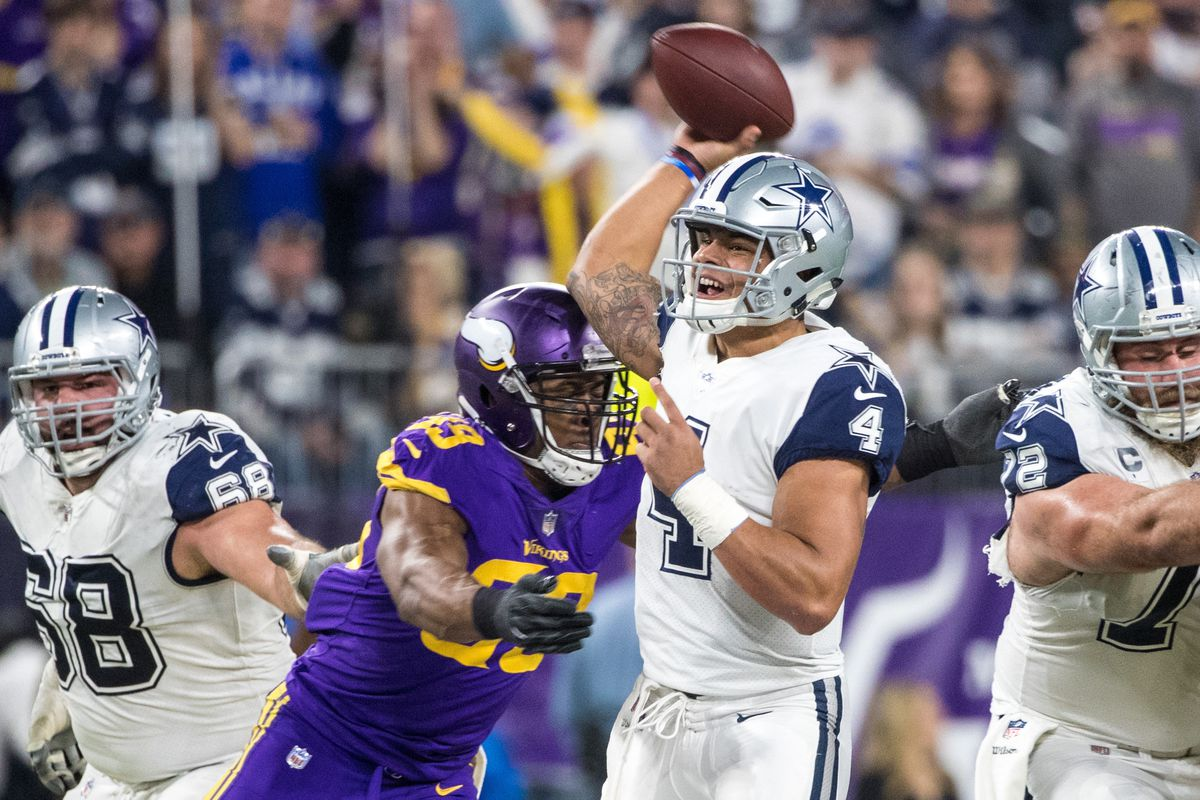 Danielle Hunter Meets Alan Page Learns Something Cool Daily