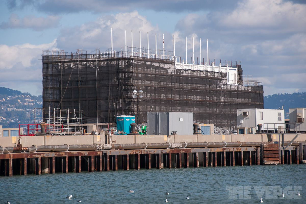 Google's other barge when it was in San Francisco earlier this year.
