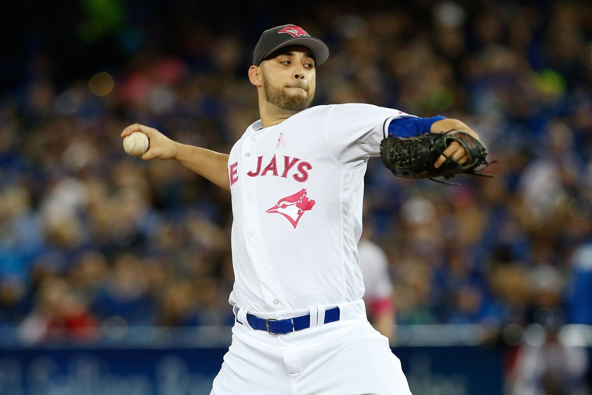 Marco Estrada's effort went to waste as the bullpen collapses again in the Jays 4-2 loss to LA