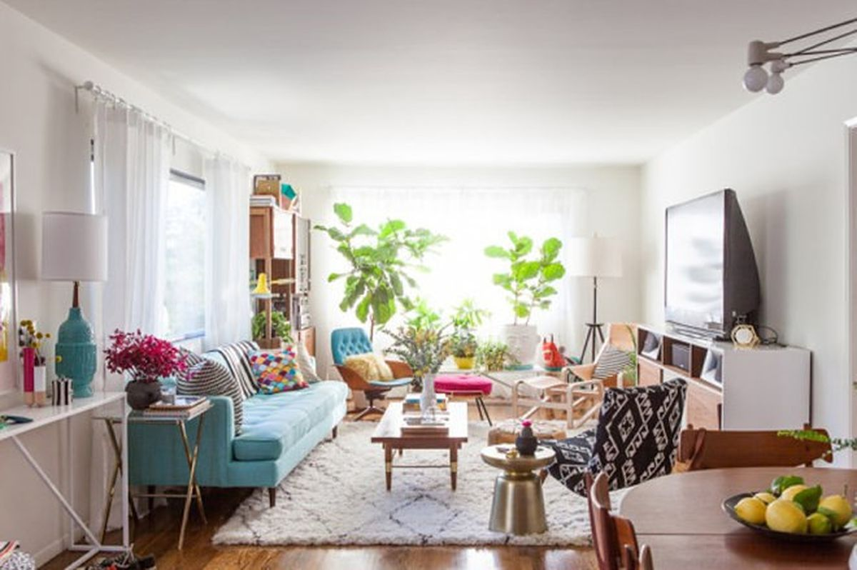 24 small spaces with wonderful maximalist decorating curbed for 10x10 square feet
